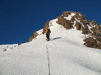 Etna, 3343 m. M.Flaccavento sulla parte mediana della Serra Cuvigghiuni in alta Valle del Bove.
